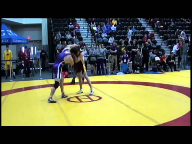 2014 CIS Championships: 90 kg Jordie Steen vs. Riley Otto