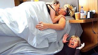 I Spent the Night in Morgz Bedroom & He had No Idea... (24 Hour Challenge)