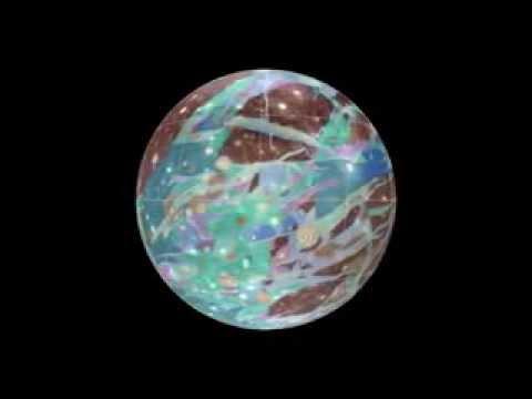 Geologic Map of Jupiter's Moon Ganymede   NASA Space Science Video