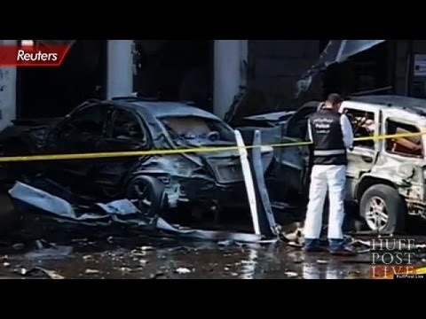 Deadly Car Bomb In Lebanon