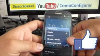 Poner la alarma en Samsung Galaxy S3