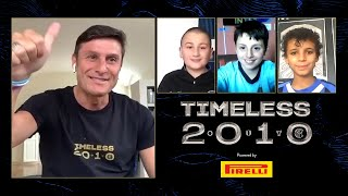 JAVIER ZANETTI'S SURPRISE CALLS TO THREE INTER FANS BORN ON THE 22th MAY 2010 | TIMELESS 🖥️🖤💙🎂????