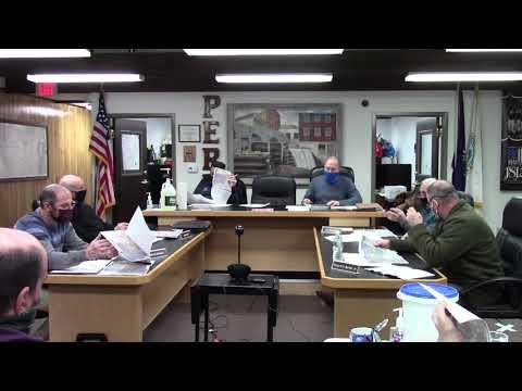 Peru Town Board Meeting  2-22-21