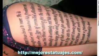 Los Mejores Tatuajes De Letras