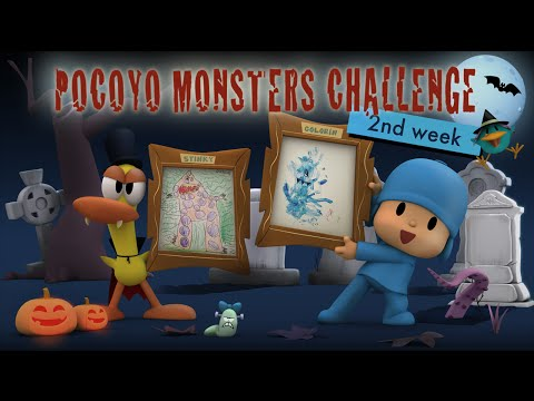 Pocoyo Halloween - Monsters Contest: 2nd week winners!