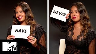 13 Reasons Why Star Alisha Boe Plays NEVER HAVE I EVER! | MTV Movies