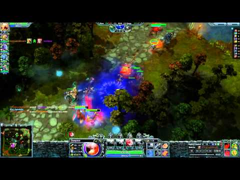 HoN Dampeer Immortal Game play 2014