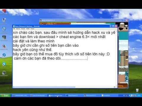 Hướng dẫn Hack xu, yên ninja school online moi nhat