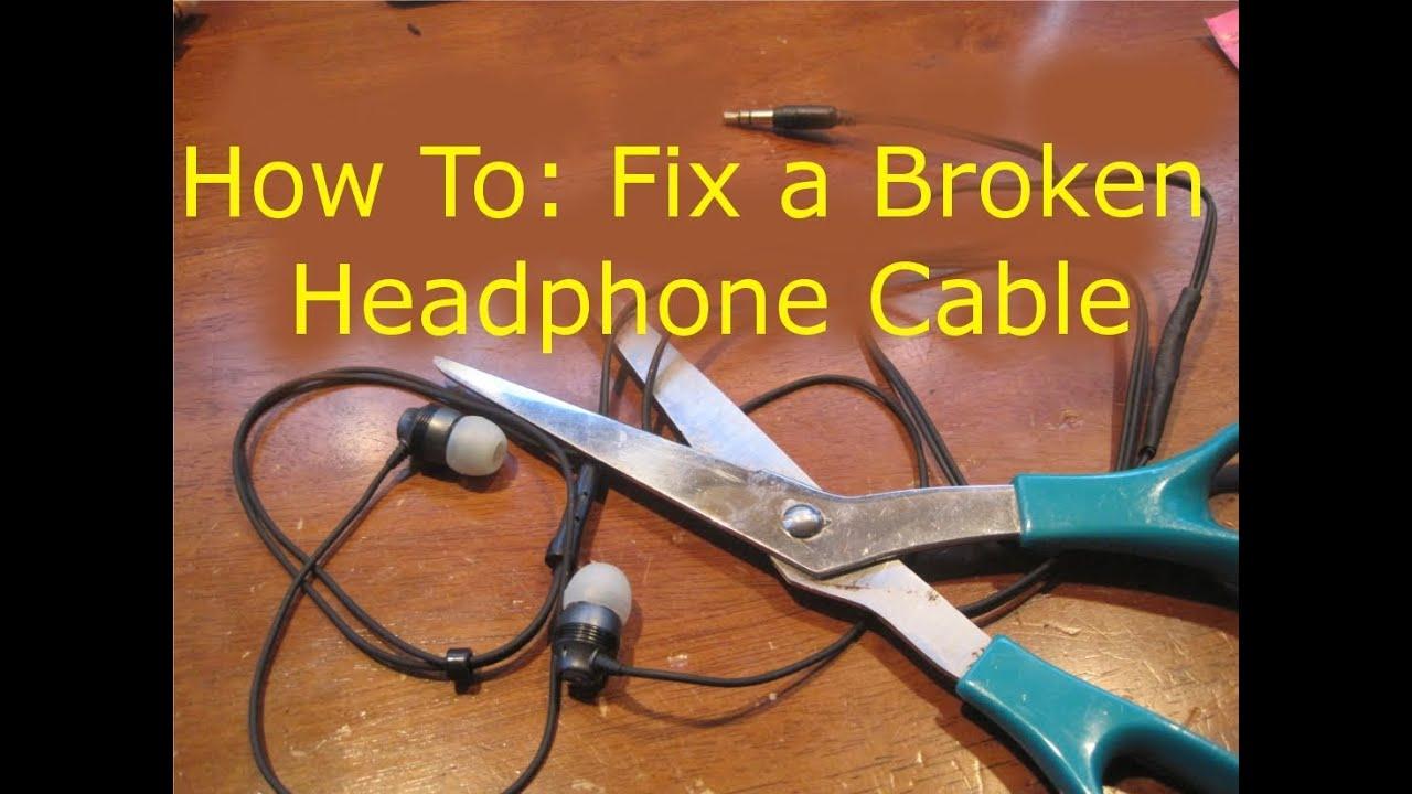 headphone speaker wiring diagram how to fix broken headphones  cut in half  youtube  how to fix broken headphones  cut in half  youtube