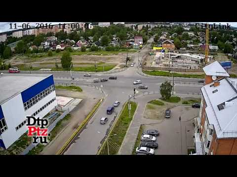 Серьезное ДТП с мотоциклистом на Чапаева