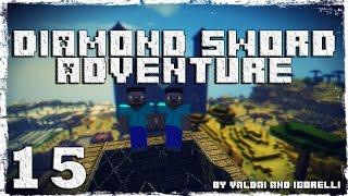 [Coop] Minecraft Diamond Sword Adventure. #15: Куча скелетов.