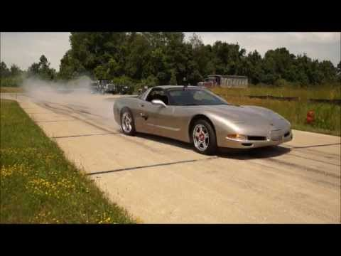 C6 vs C5 Corvette Dragrace Surprise Result!!!!!!!