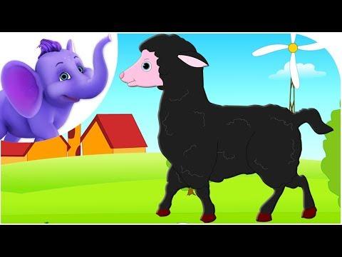 Baa Baaa Black Sheep - Entertaining Nursery Rhyme