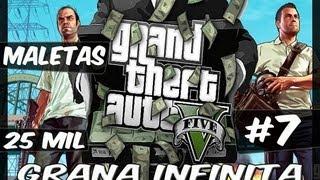 GTA V #7 Dinheiro Infinito Maleta De 25 Mil Dolares