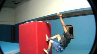 Freerunning Girl 7yrs Old Parkour Ninja San Jose