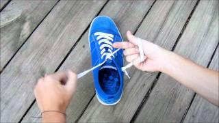 Atarse los zapatos super rápido