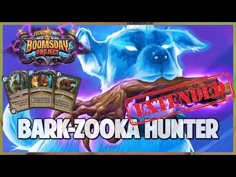 Bark Zooka Hunter | Extended Gameplay | Hearthstone | Boomsday Project