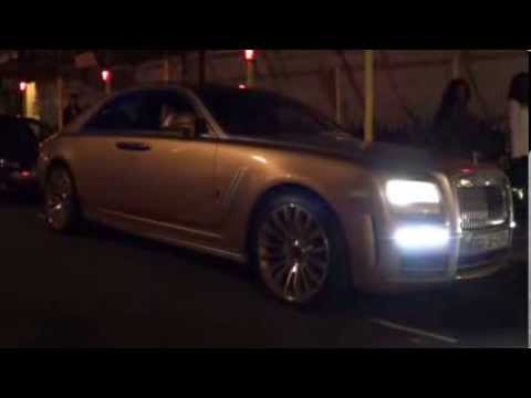 GOLD Mansory Rolls-Royce Ghost from Kuwait