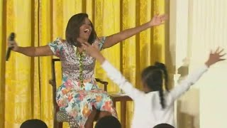 Little girl to Michelle Obama: You're too young for 51!