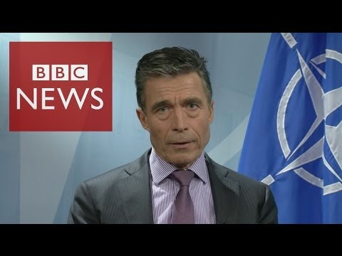 NATO 'We're worried about Russian military build up'  BBC News
