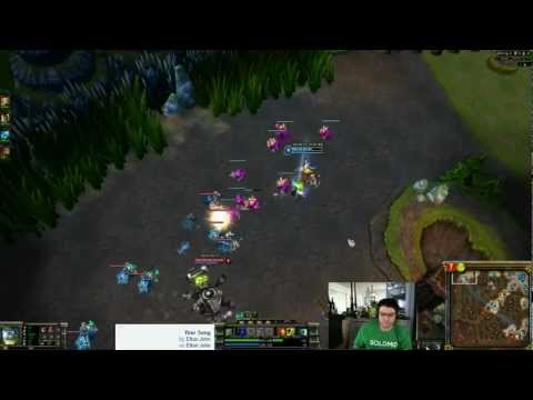 TSM Dyrus playing Olaf - Top lane - 2601 ELO - WORST TOP NA