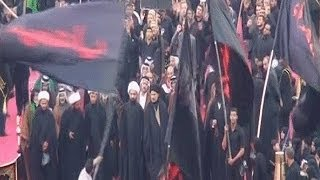 Hao123-شيعة العراق يبدأون التحضير لإحياء يوم عاشوراء في كربلاء