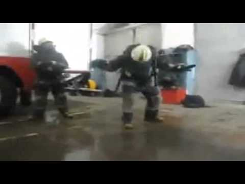 Firefighter breakdance