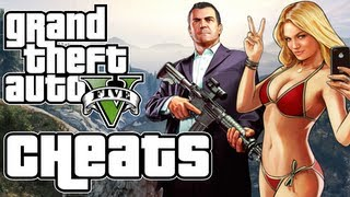 Grand Theft Auto 5: In Game Cheat Codes! Xbox 360 & PS3