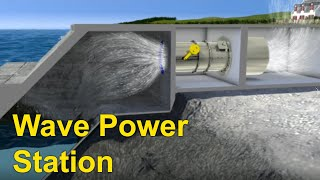 Ocean Energy Wave Power Station