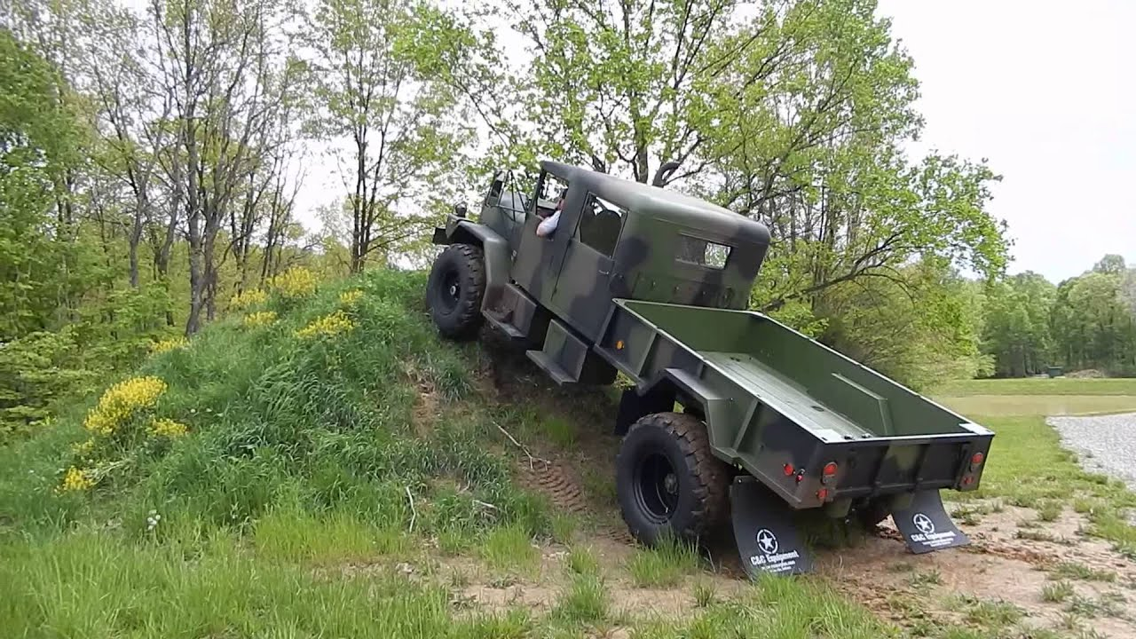 M35A3 Custom crew cab by C&C Equipment 3 - YouTube