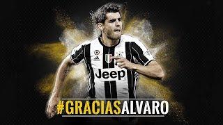 Gracias Alvaro - La Juventus saluta Alvaro Morata
