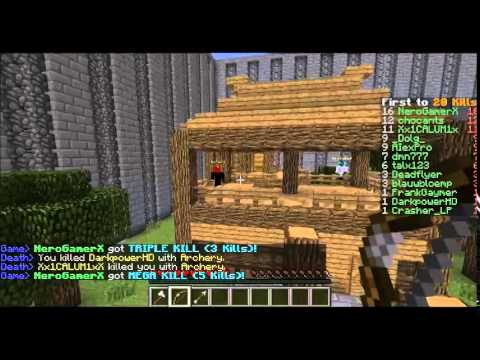 Talx plays: Minecraft minigame- One in the quiver!