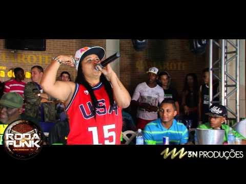 MC Kátia :: Lançando seu novo Videoclipe na Roda de Funk :: Ao vivo