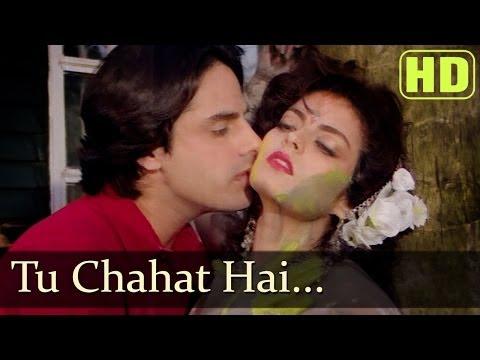 Tu Chahat Hai Tu Dhadhkan Hai (HD) Rahul Roy - Sheeba - Nadeem Sharvan - Pyar Ka Saaya songs