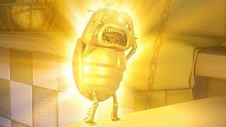 Larva - zlaté světlo