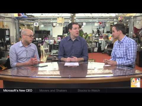 Microsoft's New CEO | Investor Beat - 2/4/14 | The Motley Fool