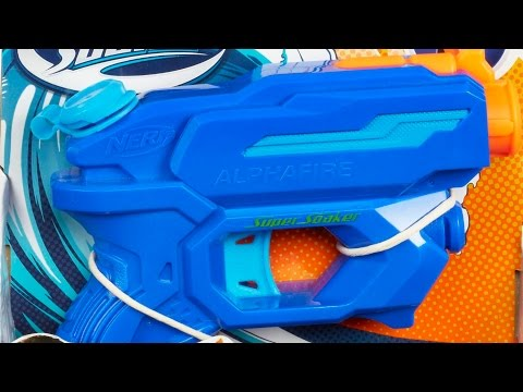 NERF - SUPER - SOAKER - ALPHA - FIRE - A5625
