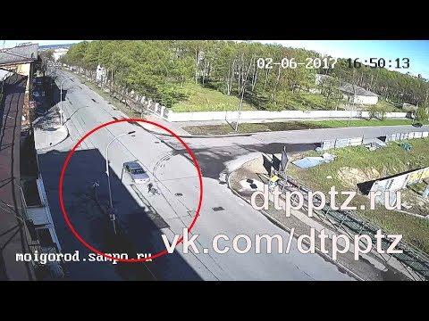На улице Гоголя сбили двух пешеходов