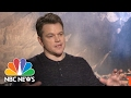 Matt Damon: The Great Wall Is Bigger Than Anything Ive Ever Been Part Of | NBC News