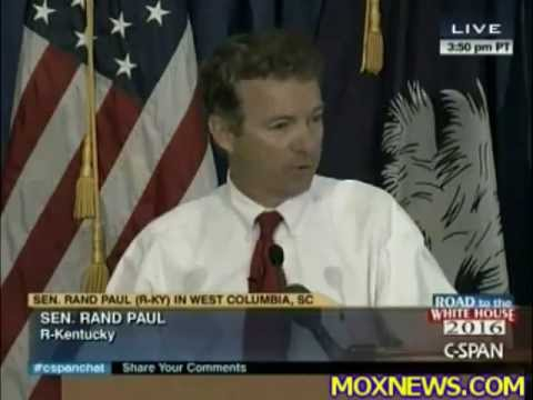 Rand Paul: We Should Audit the Pentagon, Audit the Defense Budget