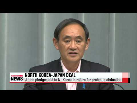 North Korea and Japan agree to reinvestigate kidnapping case and lift sanctions