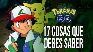 17 puntos para dominar Pokemon Go