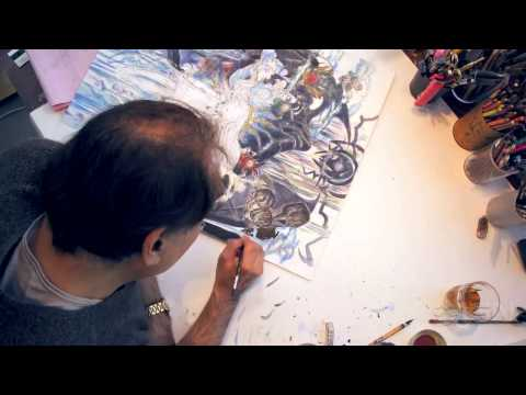 Child of Light -- The Art of Yoshitaka Amano Trailer
