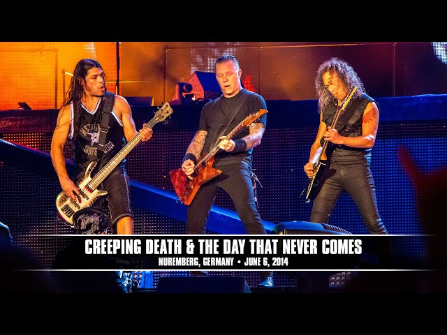 Metallica: Creeping Death and The Day That Never Comes (MetOnTour - Nurnberg, Germany - 2014)