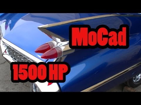 1500 HP 59 World Class Cadillac Coupe!  Nelson Racing Engines.  NRE TV Episode 208. Mo Cad.