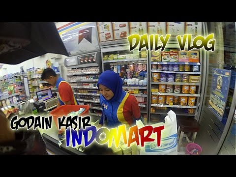 Godain kasir indomart - Daily Vlog