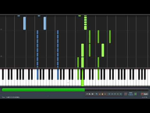 [Synthesia] Skyrim Main Theme ''Dragonborn'' (Taioo Piano Transcription)