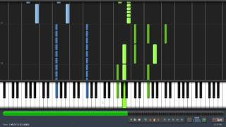 [Synthesia] Skyrim Main Theme ''Dragonborn'' (Taioo Piano