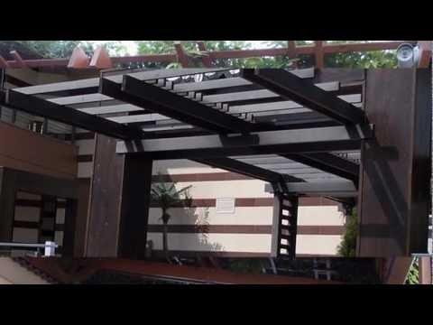 Modele terase din lemn si foisoare - www.miluxmob.ro