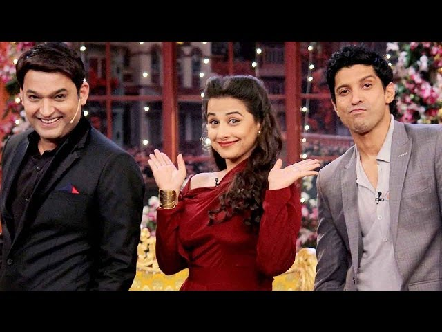 Comedy Nights with Kapil: How did Farhan & Vidya prove lucky for Kapil Sharma's bua?